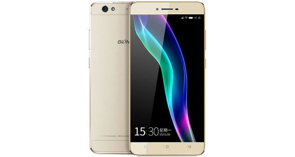 Gionee S6 Front and Back