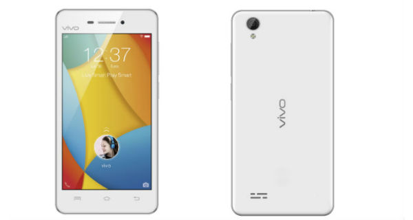 Vivo Y31L Front and Back