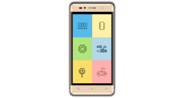 Intex Aqua Shine 4G Front