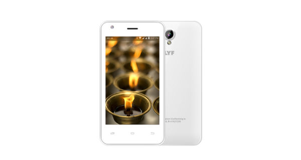 LYF Flame 2 Front and Back