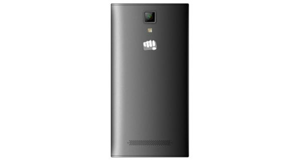 Micromax Canvas xp 4G Back