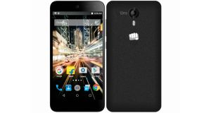 Micromax Canvas Amaze 2 Front and Back
