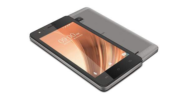 Lava A68 Front and Back