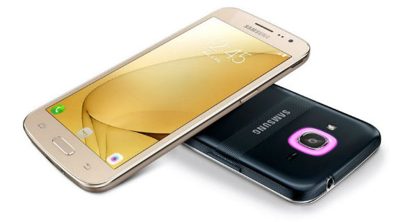 Samsung Galaxy J2 2016 Front and Back