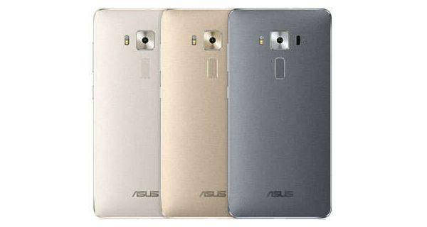 Asus ZenFone 3 Deluxe Back