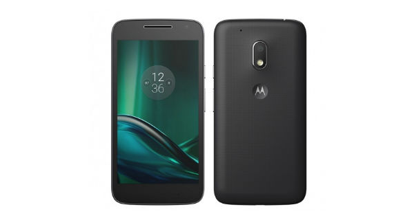 Moto G4 Play Front and Back