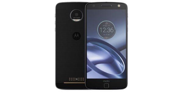 Motorola Moto Z Front and Back