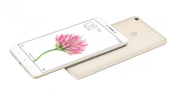 Xiaomi Mi Max Prime Front and Back