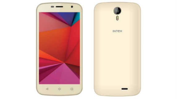 Intex Aqua Classic 2 Front and Back
