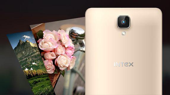 Intex Aqua Lions 4G Camera