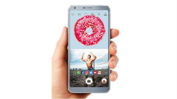LG G6 view