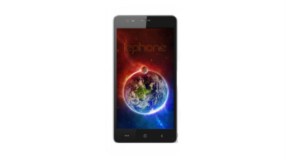 Lephone W7 front