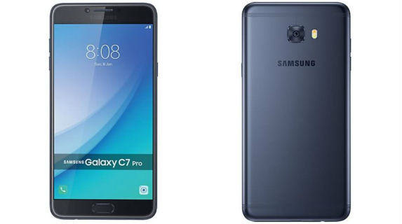 Samsung Galaxy C7 Pro with 16MP front camera launched for Rs 27,990