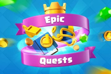 Clash Royale The Epic Quests
