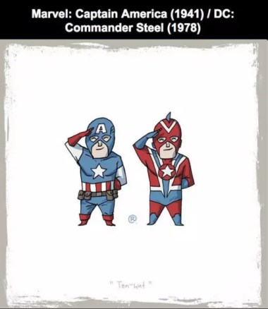 Captain America ve Commander Steel