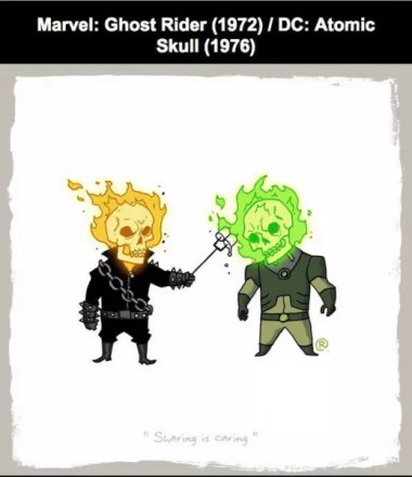 Ghost Rider ve Atomic Skull