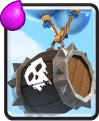 Skeleton Barrel - Clash Royale