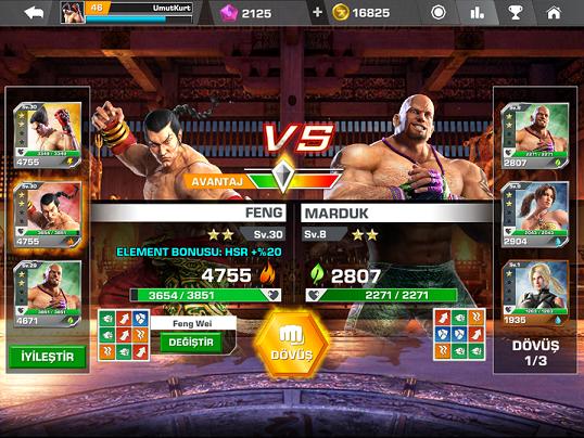 Tekken Mobile Dojo