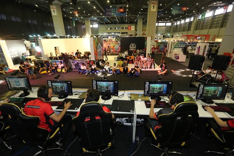 CNR Games Week 2018 Turnuva Alanı