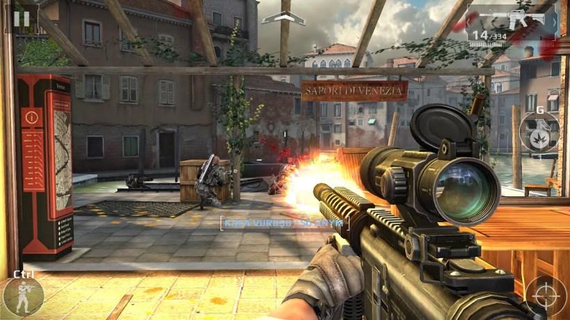 Bilgisayarda Oynanan 5 Mobil Aksiyon Oyunu - Modern Combat 5: Blackout