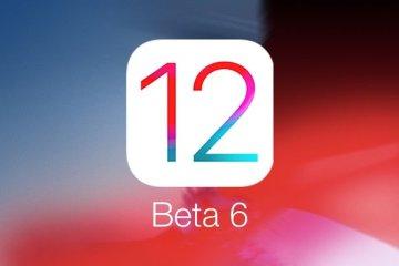 iOS 12 Beta 6 yayınlandı!