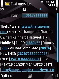 Theft Aware