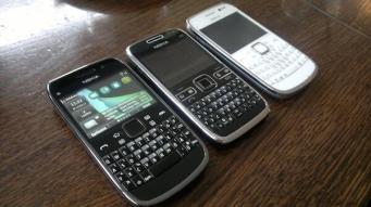 Nokia E72 und E6_4
