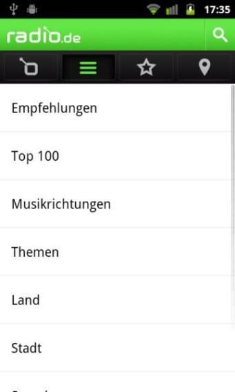 radio.de Android (2)