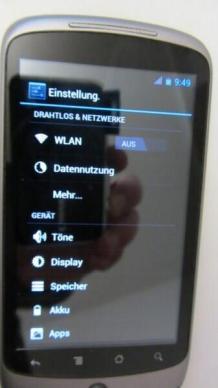 Nexus One Ice Cream Sandwich 4.0 (11)