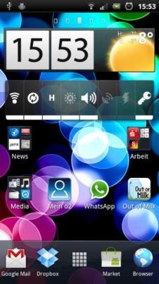 SE Xperia Arc S Screens (2)