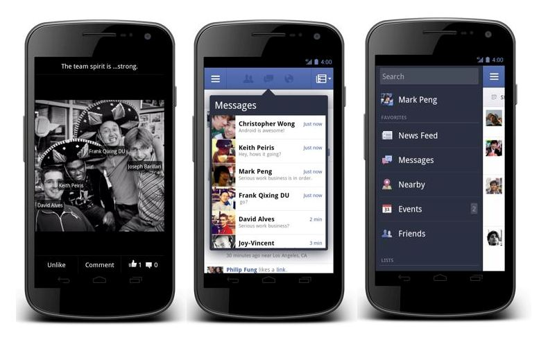Kurzmeldungen Facebook
