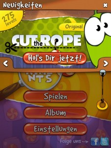 Cut the Rope Experiments (1)