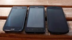 Galaxy S_Huawei Honour_Nexus S