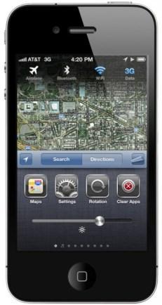 iPhone Konzept - Einstellungen