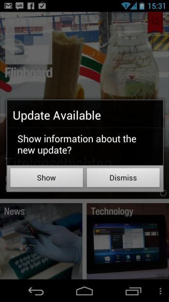 Flipboard für Android bekommt kleines Update