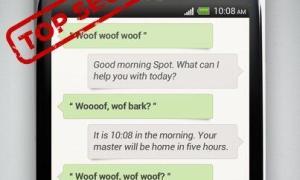 HTC Siri-Konkurrent Mockup
