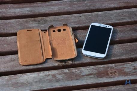 Zenus Samsung Galaxy S3 Masstige E-note Diary Camel IMG_8189
