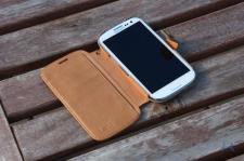 Zenus Samsung Galaxy S3 Masstige E-note Diary Camel IMG_8190
