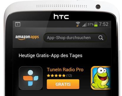 Amazon Appstore Gratis-App TuneIn