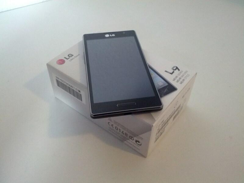 LG P760 Optimus L9 im Test: Der erste Eindruck