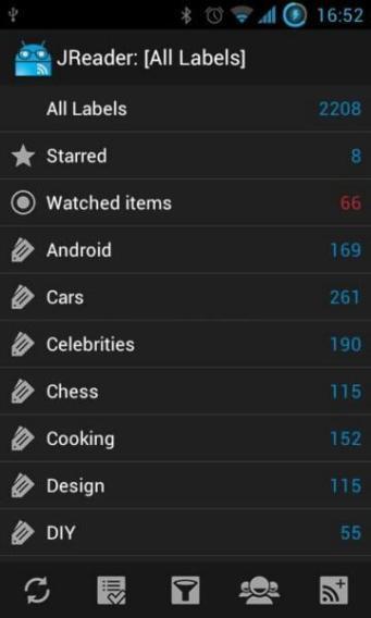 JReader für Android (2)