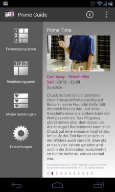 Prime Guide TV Zeitschrift