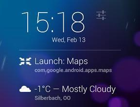 launch app extension