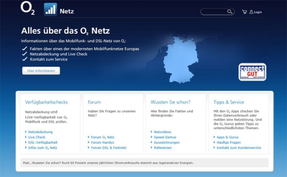 Screenshot-Website.o2-Netz-online