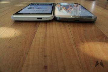 Display Samsung Galaxy S4 vs. HTC One IMG_2333