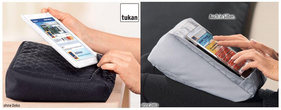 tukan tablet kissen f r 6 euro ab donnerstag bei aldi s d archiv seite 1. Black Bedroom Furniture Sets. Home Design Ideas