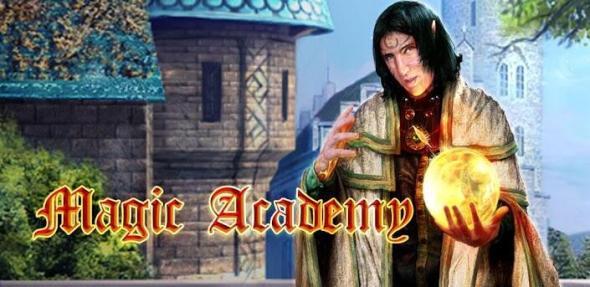 Magic Academy hidden castle