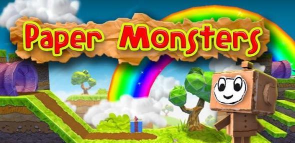paper monsters header
