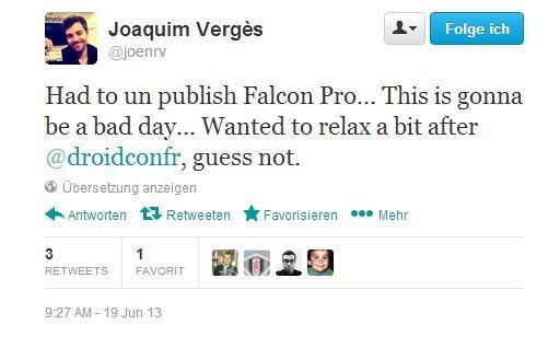 Twitter-Client Falcon Pro