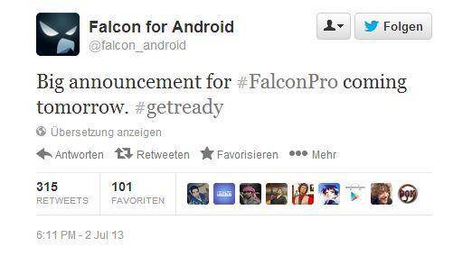 Falcon Pro Status